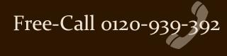 Free-Call 0120-393-392